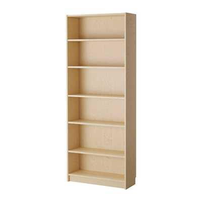 BILLY Bookcase, birch veneer - Ikea