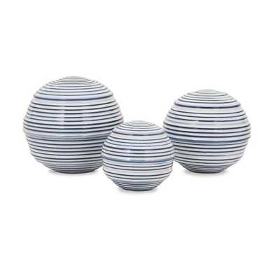 Libby Spheres - Set of 3 - Mercer Collection