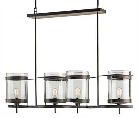 Quartermaine Chandelier - Currey and Company