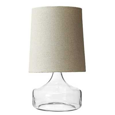Perch Table Lamp - Clear - West Elm