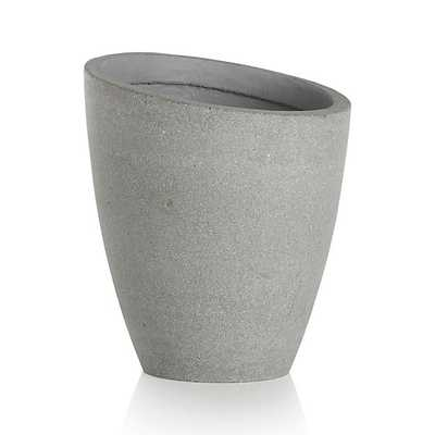 Slant Short Planter - Crate and Barrel
