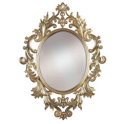 Louis Wall Mirror - Wayfair