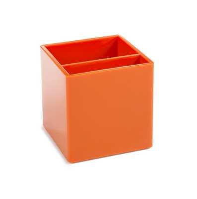 Orange Pen Cup - Poppin