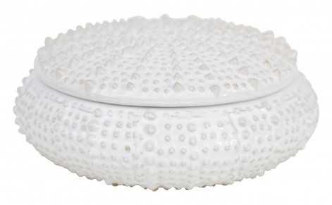 Urchin Box - White - Jayson Home