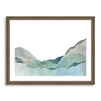 Minted for west elm - Terrain Prints No. 1 - Framed - West Elm