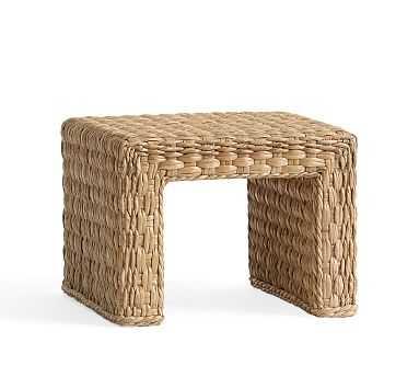 Woven Coffee Table- Savannah Flat Twisted Weave - Pottery Barn