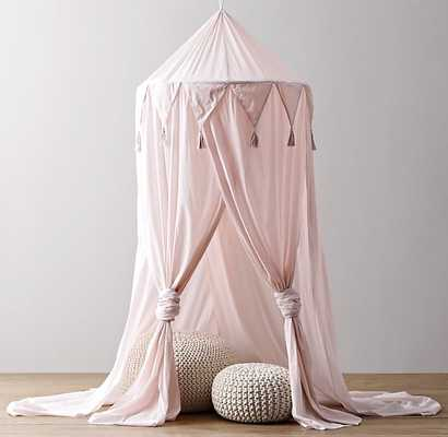 COTTON VOILE PLAY CANOPY - Petal - RH Baby & Child