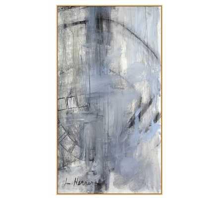 "Orbit Study #2 Wall Art - 33""x60"" - Natural Frame - Pottery Barn"