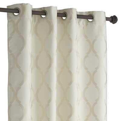"""Moorish Tile Ivory Curtain - 108"""" - Pier 1"""