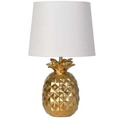 Pineapple Table Lamp (Includes CFL bulb) - Gold - Target