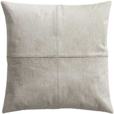 Abele pillow with feather-down insert - CB2
