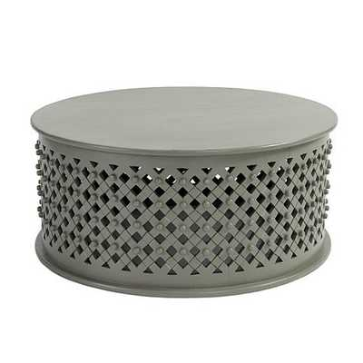 Bornova Coffee Table - Warm Gray - Ballard Designs