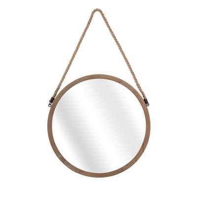 Bonnie Lock-Woodsetter North Wood Wall Mirror - Wayfair