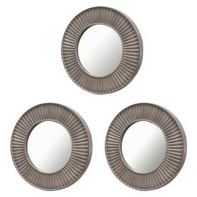 3 Pack Sunburst Mirror Grey - Threshold™ - Target
