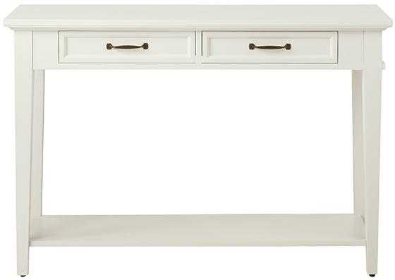 Martin Console Table - Ivory - Home Depot