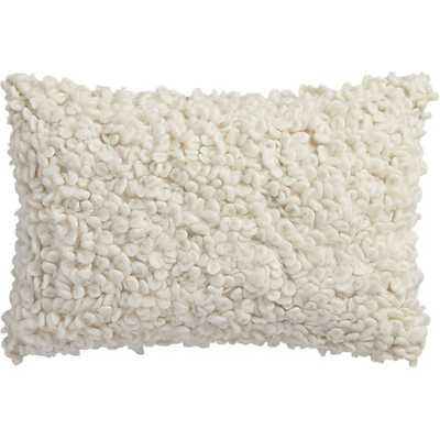 Toodle pillow - 18x12 - Feather-down insert - CB2