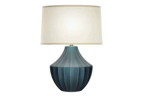 Table Lamp-Blue Wash Hydria - Living Spaces