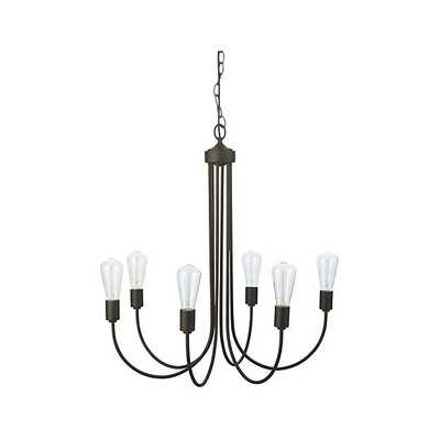 Oakton Bronze Chandelier - Crate and Barrel