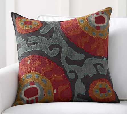 Houston Cropped Suzani Pillow Cover - Insert sold separately - Pottery Barn