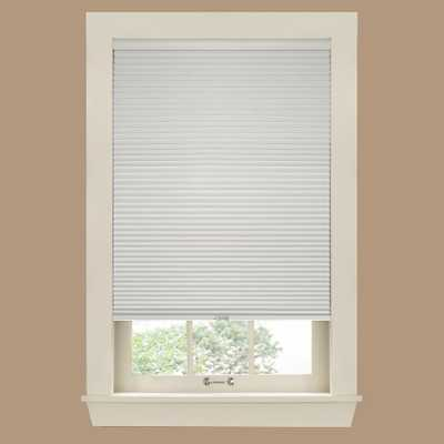 White Dove 9/16 in. Cordless Blackout Cellular Shade - 29 in. W x 72 in. L - Home Depot