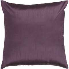 """Solid Luxe HH-039 - 18"""" x 18""""  Pillow Shell with Down Insert - Neva Home"""