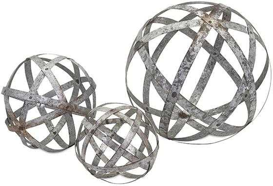Spheres - Set of 3 - Home Decorators