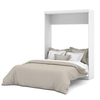 Truett Queen Murphy Bed - White - Queen - Wayfair