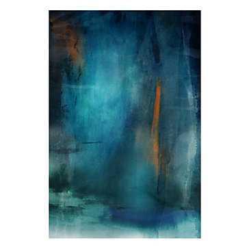Deep Ocean Blue - 39''W x 54''H - Unframed - Z Gallerie