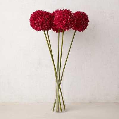 Faux Flower Head Stems - Pink - West Elm