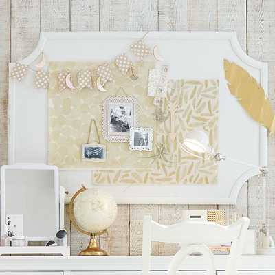 Scallop Statement Pinboard - Pottery Barn Teen