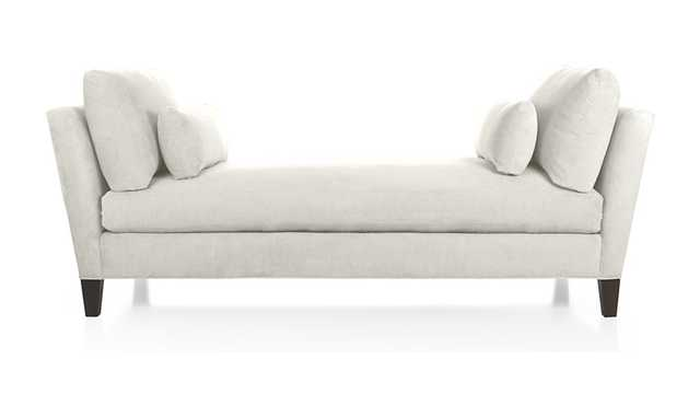 Marlowe Daybed - Snow - Crate and Barrel