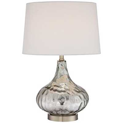 Amaya Mercury Glass Table Lamp - Lamps Plus