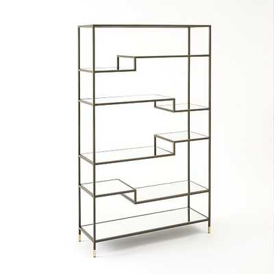 Tiered Tower Bookcase - West Elm