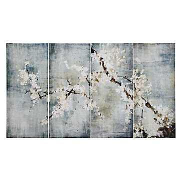 Blooming - Set of 4 - Unframed - 64''W x 36''H - No Mat - Z Gallerie
