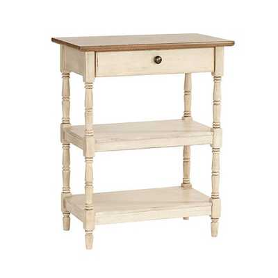 Laurel Side Table - Antique White - Ballard Designs