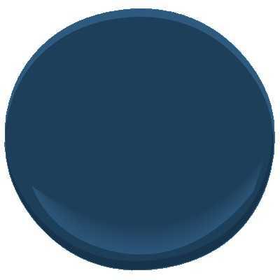 Benjamin Moore ben - Marine Blue - Sample - Benjamin Moore