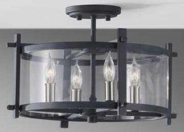 ELLIS SEMI-FLUSH MOUNT - FOUR LIGHT - Home Decorators