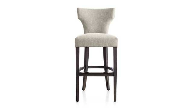Sasha Upholstered Bar Stool -Sand - Crate and Barrel