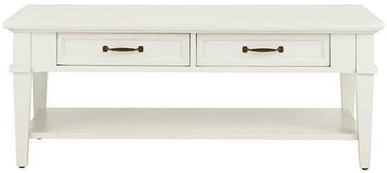 MARTIN COFFEE TABLE - Ivory - Home Depot