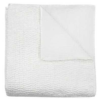 Aster Bedding [Queen Coverlet - Ivory] - Z Gallerie