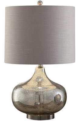 Soho Mercury glass Table Lamp - Home Depot