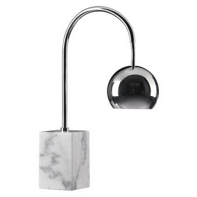 Run Chrome Table Lamp - Overstock