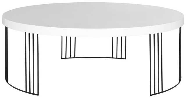 KEELIN MID CENTURY SCANDINAVIAN LACQUER COFFEE TABLE - Arlo Home
