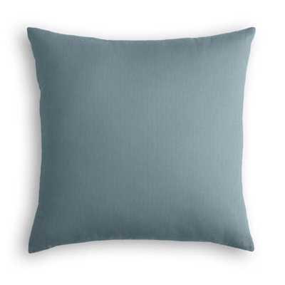 Lush Linen - Slate-18x18- poly insert - Loom Decor