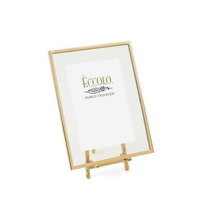 "Gold Frame Easel Frame - 5"" x 7"" - Alma Decor"