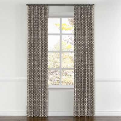 Convertible Drapery  Gate - Brindle - pair- 50'x84' - unlined - Loom Decor