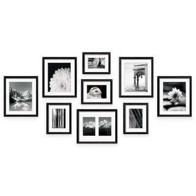 Swing Design 9 - Piece Frame Gallery In Black - Bed Bath & Beyond