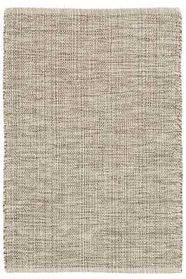 MARLED BROWN WOVEN COTTON RUG- 6' x 9' - Dash and Albert