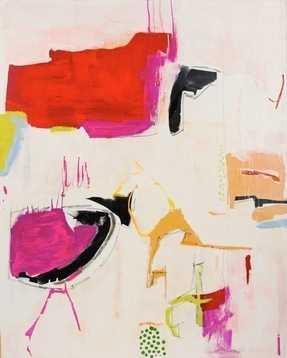 "Wonderland - 20"" x 24"" - White Frame with Mat - Artfully Walls"