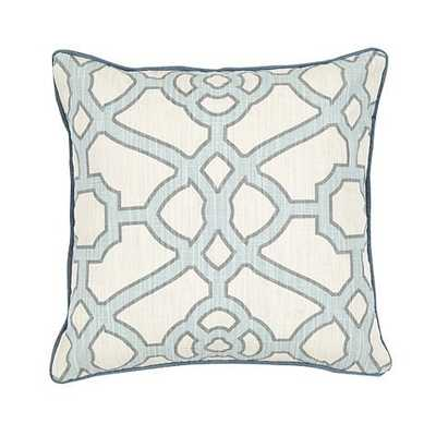 Meyers Pillow Cover - Sky - Ballard Designs